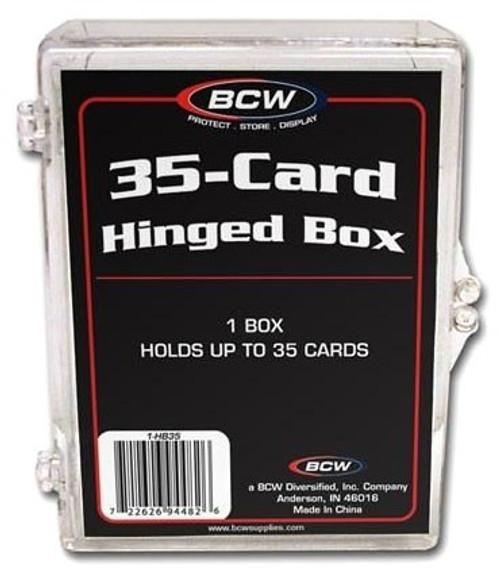 Card Supplies 35-Card Hinged Box