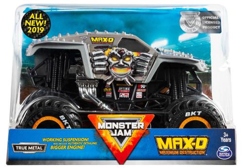 Monster Jam True Metal Max-D Diecast Car [All New 2019]