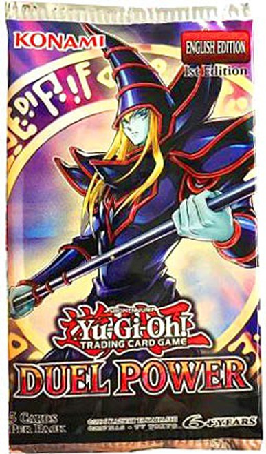 YuGiOh Trading Card Game Duel Power Booster Pack [5 Cards]