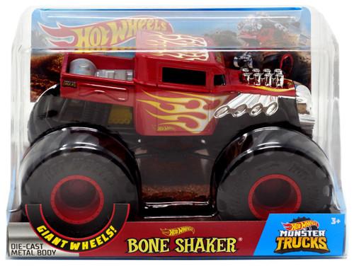 Hot Wheels Monster Trucks Bone Shaker Die-Cast Car [Red]
