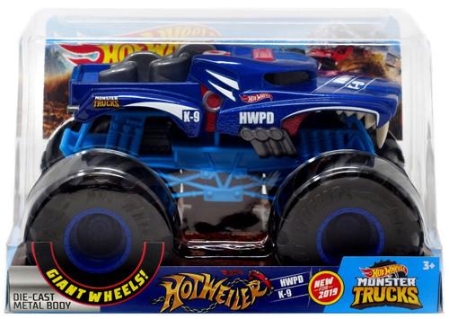 Hot Wheels Monster Trucks Hotweiler Diecast Car [1:24]