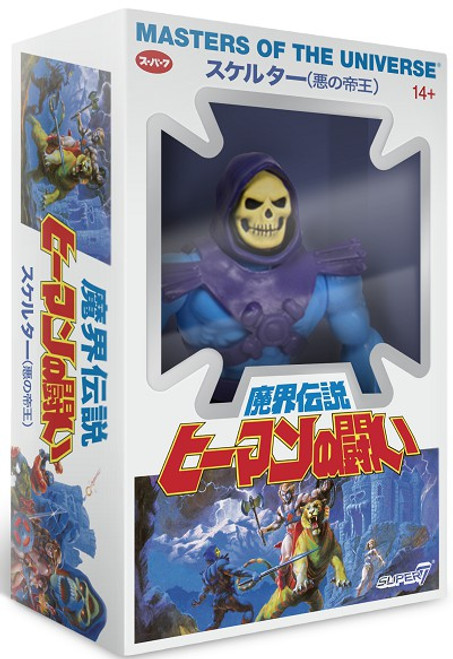 Masters of the Universe Japanese Box Skeletor Action Figure