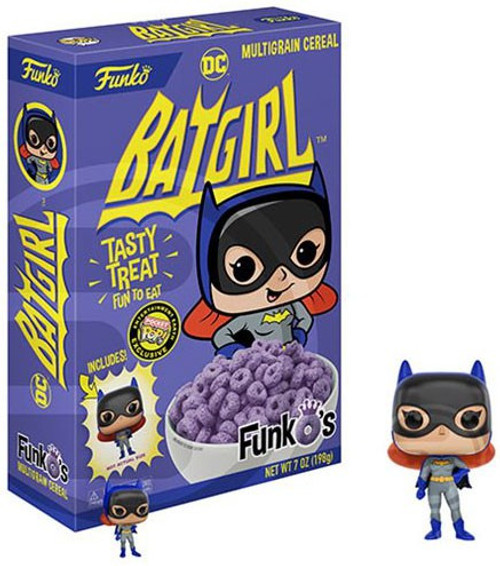 FunkO's DC Batgirl Exclusive 7 Oz. Breakfast Cereal [Damaged Package]