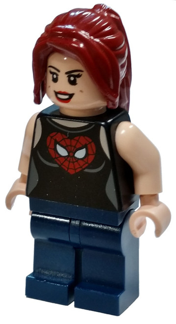 LEGO Marvel Super Heroes Ultimate Spider-Man Mary Jane Minifigure [Loose]