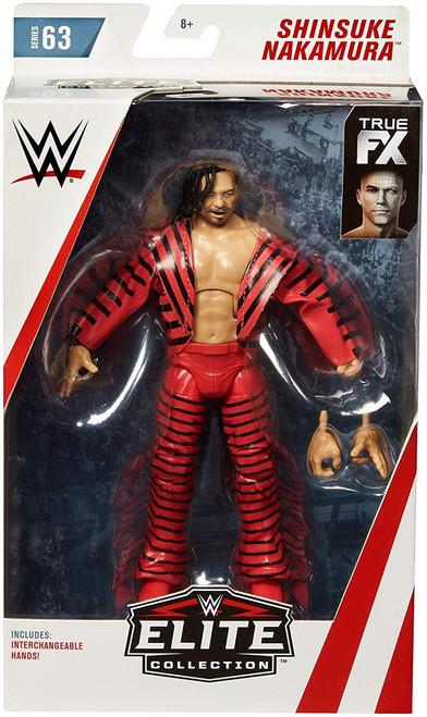 WWE Wrestling Elite Collection Series 63 Shinsuke Nakamura Action Figure [Damaged Package]
