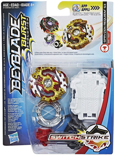 Beyblade Burst Switchstrike Spryzen Requiem S3 Starter Pack [Damaged Package]