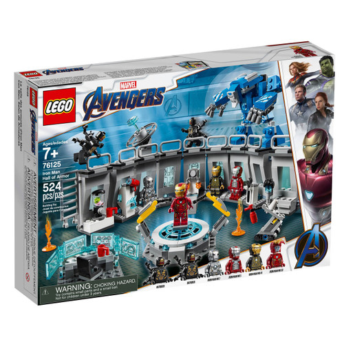 LEGO Marvel Super Heroes Avengers Iron Man Hall of Armor Set #76125