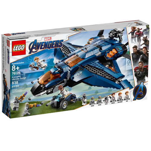 LEGO Marvel Super Heroes Avengers Ultimate Quinjet Set #76126
