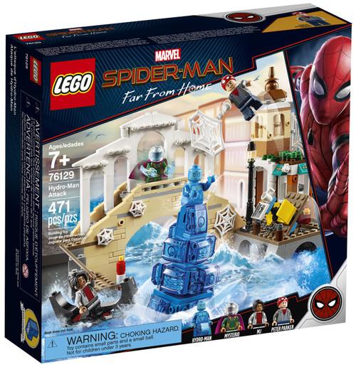 LEGO Marvel Spider-Man Far From Home Hyrdo-Man Attack Set #76129