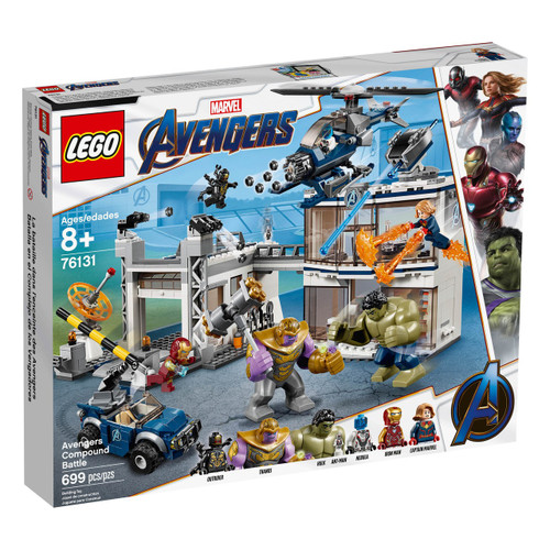 LEGO Marvel Super Heroes Avengers Compound Battle Set #76131