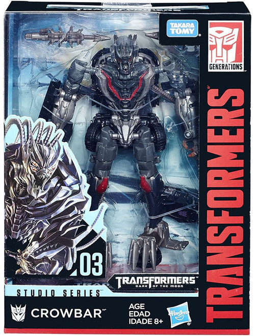 Transformers Generations Studio Series Crowbar Deluxe Action Figure #03 [Damaged Package]