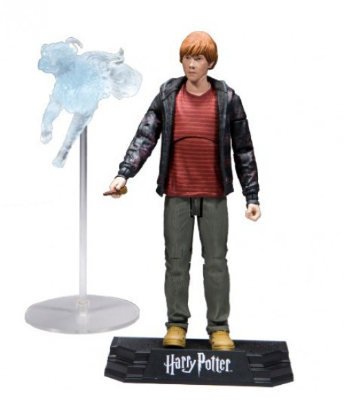 McFarlane Toys Harry Potter & the Deathly Hallows Part 2 Ron Weasley Action Figure