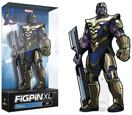Marvel Avengers Endgame FiGPiN Thanos 6-Inch Collectible Pin
