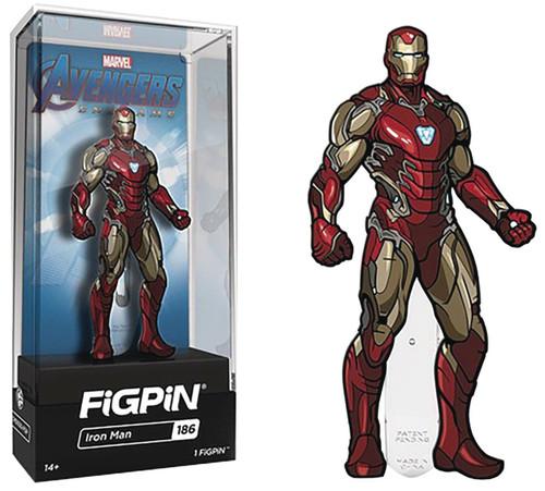 Marvel Avengers Endgame FiGPiN Iron Man Mark LXXXV 3-Inch Collectible Pin