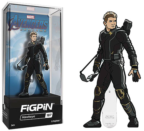 Marvel Avengers Endgame FiGPiN Hawkeye 3-Inch Collectible Pin