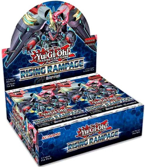 YuGiOh Trading Card Game Rising Rampage Booster Box [24 Packs]