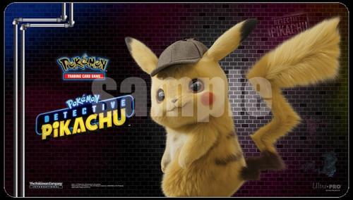 Ultra Pro Pokemon Detective Pikachu Card Supplies Pikachu Playmat