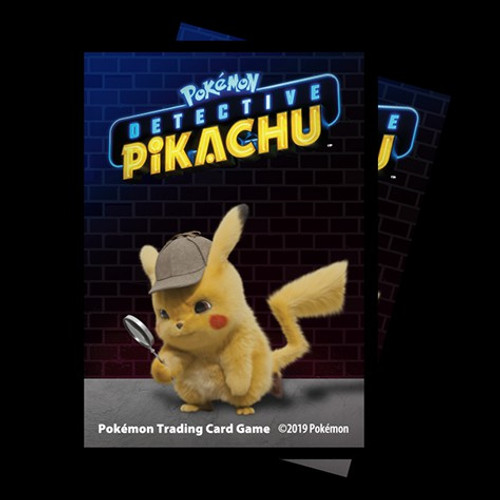 Ultra Pro Pokemon Trading Card Game Detective Pikachu 65 Card Sleeves