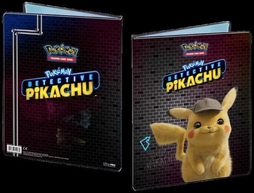 Ultra Pro Pokemon Trading Card Game Detective Pikachu Pikachu 9-Pocket Portfolio
