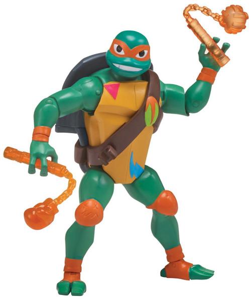 Teenage Mutant Ninja Turtles Rise of the TMNT Battle Shell Michelangelo Action Figure [Rise of the TMNT]