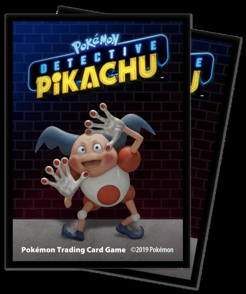 Ultra Pro Pokemon Trading Card Game Detective Pikachu Mr. Mime 65 Card Sleeves