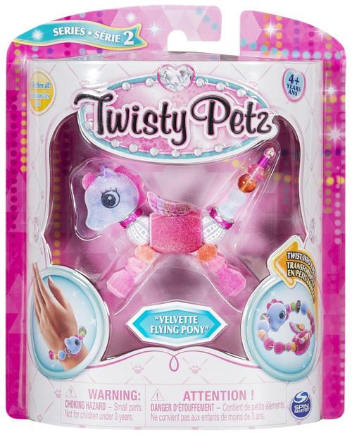 Twisty Petz Series 2 Velvette Flying Pony Bracelet