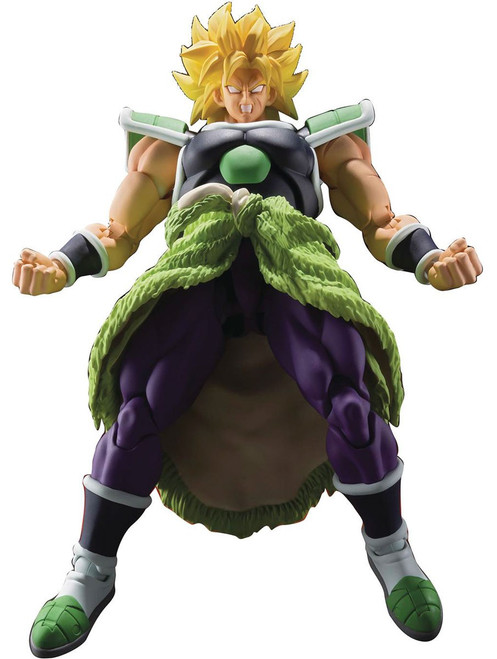 Dragon Ball Super S.H. Figuarts Broly Action Figure