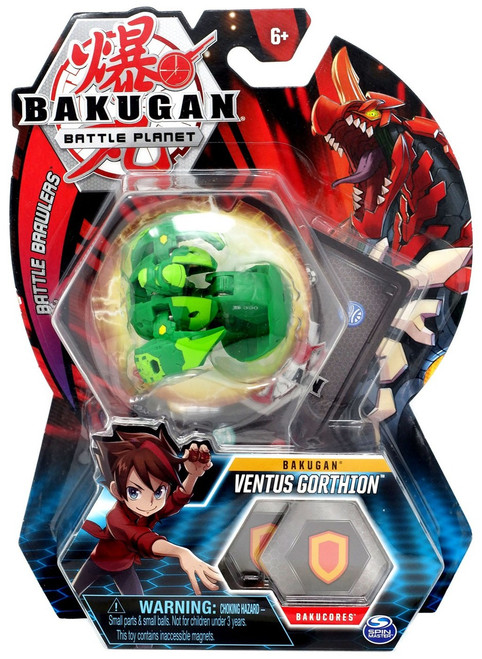 Bakugan Battle Planet Battle Brawlers Bakugan Ventus Gorthion