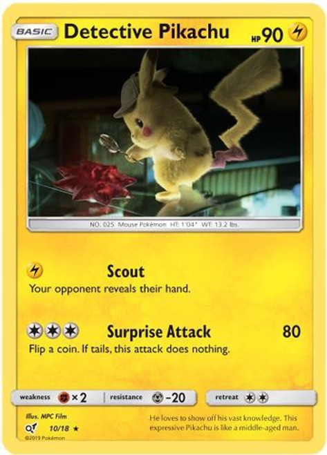 Lickitung Common NM Detective Pikachu 16//18 Pokemon TCG
