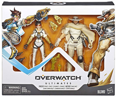 Overwatch Ultimates McCree & Posh Tracer Action Figure 2-Pack