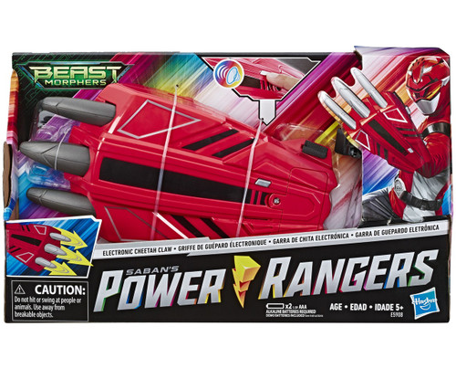Power Rangers Beast Morphers Cheetah Claw Roleplay Toy