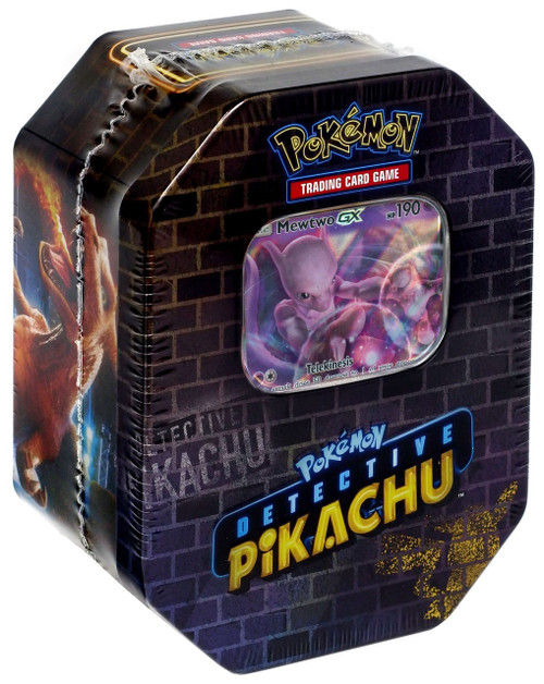 Pokemon Detective Pikachu Exclusive Tin Set [Mewtwo]