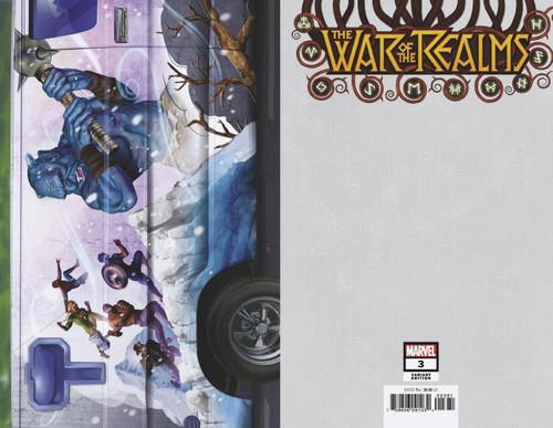 Marvel Comics War of The Realms #3 Comic Book [Greg Horn Van Variant Cover]