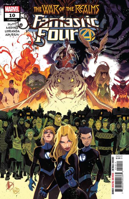 Marvel Comics Fantastic Four #10 Comic Book