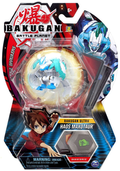 Bakugan Battle Planet Battle Brawlers Ultra Haos Maxotaur