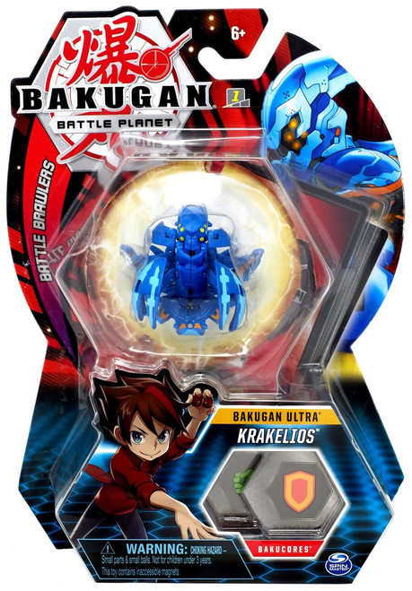 Bakugan Battle Planet Battle Brawlers Ultra Krakelios