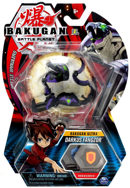 Bakugan Battle Planet Battle Brawlers Ultra Darkus Fangzor