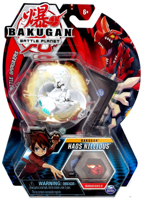 Bakugan Battle Planet Battle Brawlers Bakugan Haos Nillious