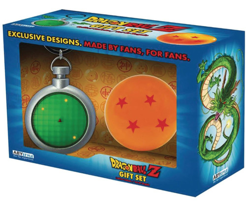 Dragon Ball Z Radar Keychain & Dragon Ball 10-Inch Collector's Set