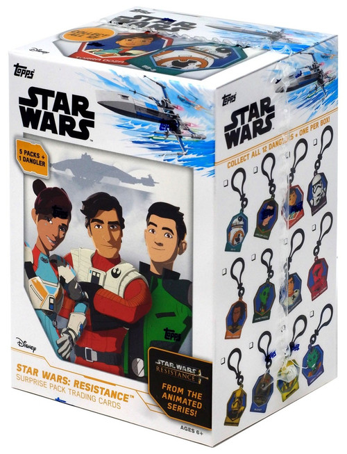Star Wars Resistance Trading Card Surprise BLASTER Box [5 Packs]