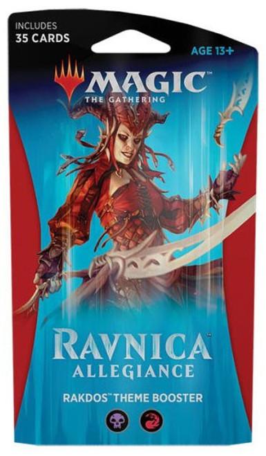 MtG Trading Card Game Ravnica Allegiance Rakdos Theme Booster Pack [35 Cards]
