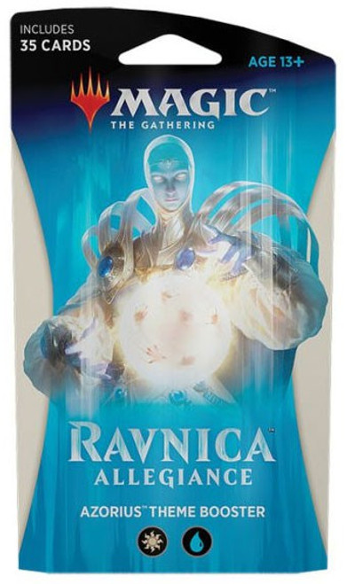 MtG Trading Card Game Ravnica Allegiance Azorius Theme Booster Pack