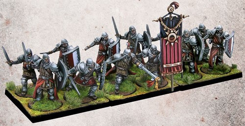 Conquest: The Last Argument of Kings Hundred Kingdoms Men-At-Arms Miniature Game Set