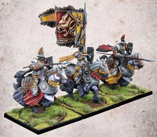 Conquest: The Last Argument of Kings Hundred Kingdoms Household Knights Miniature Game Set