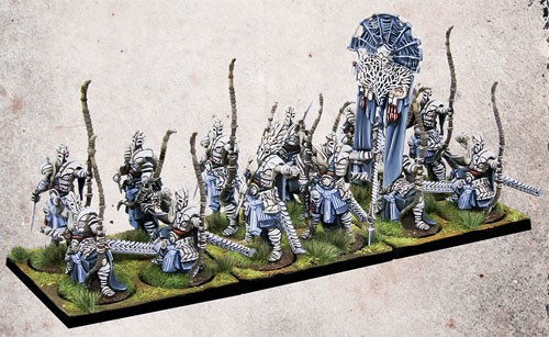 Conquest: The Last Argument of Kings The Spires Marksmen Clones Miniature Game Set