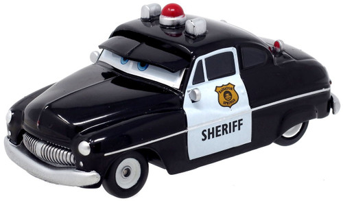 Disney / Pixar Cars Cars 3 Pull 'N' Race Sheriff Vehicle [Loose]