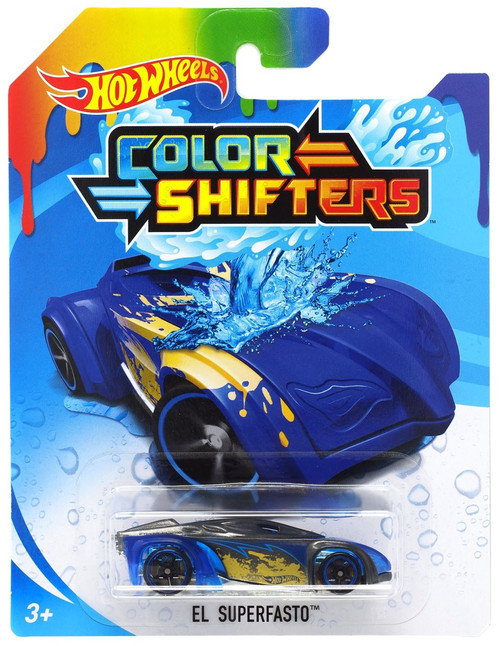 Hot Wheels Color Shifters El Superfasto Diecast Car