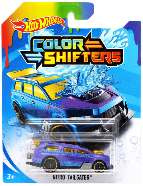 Hot Wheels Color Shifters Nitro Tailgater Diecast Car