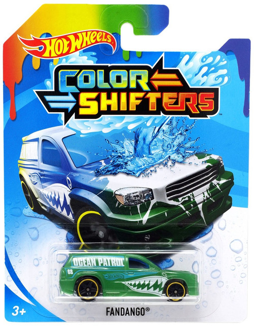 Hot Wheels Color Shifters Fandango Diecast Car