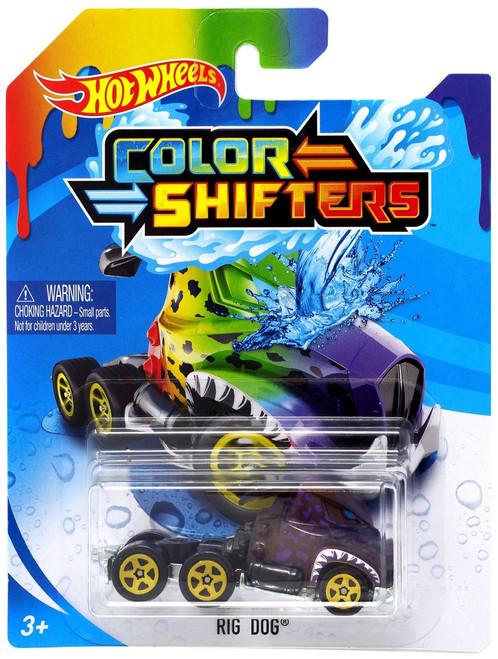 Hot Wheels Color Shifters Rig Dog Diecast Car